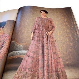 Indian long maxi dress
